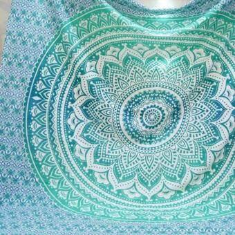 ... Tapestry Wall Hanging Summer Beach Towel Shawls Yoga Mat Bohemian Mandala Home Decor - intl ...