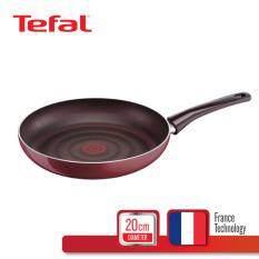 Tefal กระทะแบน 20 ซม. รุ่น Pleasure D5020212