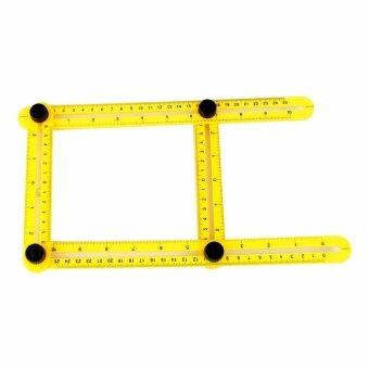 Telecorsa Angle meansuring rulerแม่แบบอัจฉริยะหรือไม้วัดสี่มิติสำหรับวัดพื้นที่ในการตัด ปะ ต่อประกอบ อุปกรณ์ต่างๆ รุ่น Angle meansuring ruler