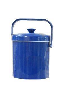 Tesco กระติกน้ำกลม ขนาด 6 ลิตร M6 - สีน้ำเงิน