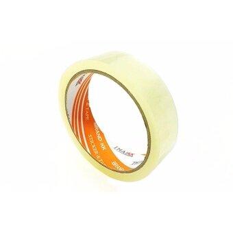 THAI KK เทปโอพีพี เทปกาวขนาด24 มม. x 45 หลา รุ่น KK Orange - สีใส (ขายยกลัง 144 ม้วน)