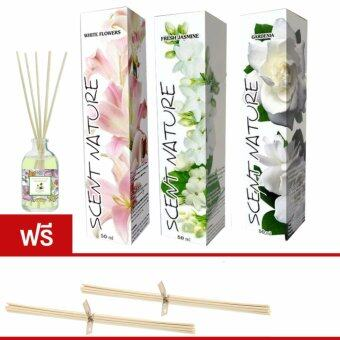 Thai scent nature collection No.2 กลิ่นดอกไม้อ่อนๆ (jasminegardeniawhite flower)