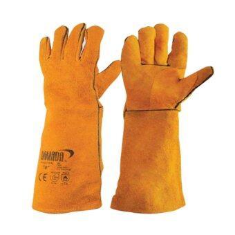 ถุงมือหนังงานเชื่อม YAMADA ยาว 18\ รุ่น 18202