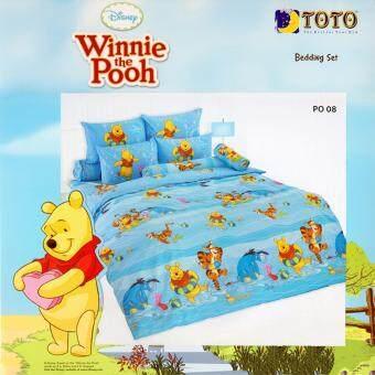 Toto ผ้านวมเอนกประสงค์ โตโต้ ลายหมีพูห์ PO 08 / PO 07 สำหรับเตียง 3.5ฟุต หรือ ห่มคนเดียว (ไม่รวมผ้าปู ปลอกหมอน ปลอกหมอนข้าง)