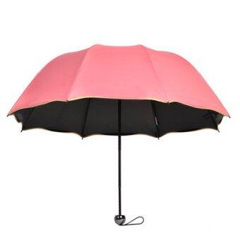 Trendy Folding Anti UV Rain/Sun Umbrella - Intl