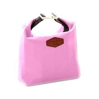 Triple3Shop กระเป๋าถือเก็บร้อน - เย็น สไตล์เกาหลี - สีชมพู