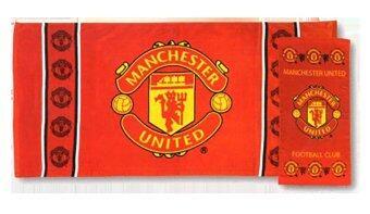 Tulip ชุดผ้าขนหนู เช็ดตัว+เช็ดหัว ลายฟุตบอล แมนเชสเตอร์ยูไนเต็ด Manchester United (สองชิ้น)