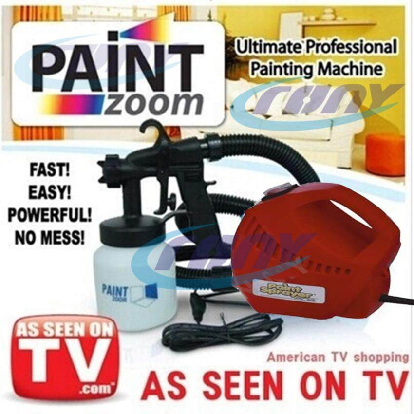 TV Paint Zoom DIY Sprayer ปืนพ่นสี With 3 Way Painting