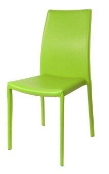 U-RO DECOR เก้าอี้รับประทานอาหาร รุ่น CORONA - สีเขียว
