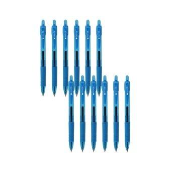 ปากกา UD PENS ปากกาเจล SGN-238 (0.38) Light Blue - 12 ด้าม