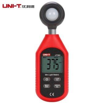 UNI-T UT383 Mini Light Meter 200,000 LUX Digital Luxmeter LuminanceLux Fc Test Max Min Illuminometers Photometer - intl - 2