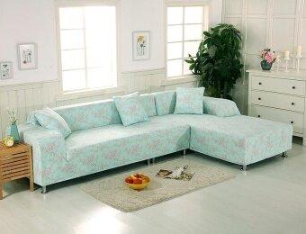 ต้องการขาย Universal Sofa Cover For L Shape Elastic Fabric StretchSlipcover3+4 Seater Slipcover(2pcs) - intl