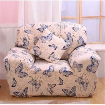 Universal Stretch Slipcover Sofa Covers Skid Washable 1 2 3 Seater Pillow Cover - intl