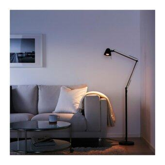 UPPBO โคมไฟตั้งพื้น/อ่านหนังสือ Floor/reading lamp ส฿ง 166 cm (ดำ)