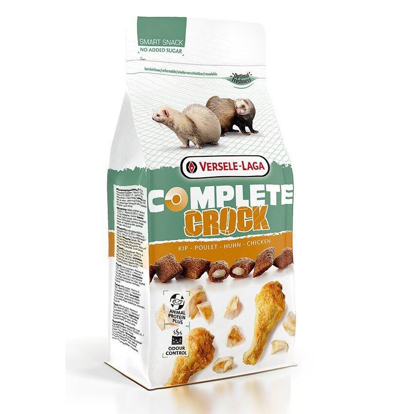 Versele-Laga ขนมคุ๊กกี้ คร็อกคอมพลีท โอเมก้าสูง รสสไก่ อาหารเฟอร์เร็ท Crock Complete Chicken Food for Ferret, 50 g.