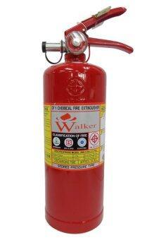 Walker ถังดับเพลิง เคมีแห้ง ขนาด 5 ปอนด์ (ถังสีแดง)