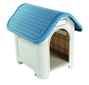 WELL WARE บ้านสุนัข-แมว ขนาดกลาง AG616 - Blue