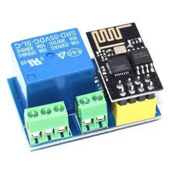 โมดูลควบคุมอุปกรณ์ผ่าน Wifi ESP8266 + RELAY 10แอมป์