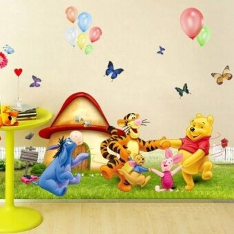 Winnie the Pooh Nursery Room Wall Decal Sticker For Kids BabyBedroom Wall Decor - intl