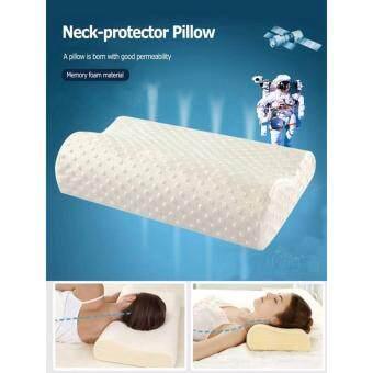 WOW หมอนเมมโมรี่โฟม Memory Foam Pillow หมอนสุขภาพ รองรับช่วงคอและกระดูกคอให้ถูกสรีระ หลับสนิทตลอดคืน
