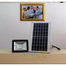 ขาย XML-Solar ไฟสปอตไลท์โซล่าเซลล์ 10 Watt รีโมทดำ (เเสง : ขาว)