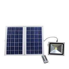 XML-Solar สปอร์ตไลท์พลังเเสงอาทิตย์ 30 Watt Polycrystalline Solar Panels