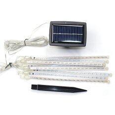 XML-Solar ไฟกระพริบโซล่าเซลล์ ทรงดาวตก 8 เเท่ง/ชุด