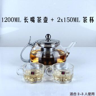 Yafeng อุณหภูมิสูงแก้วกาน้ำชากรองชา Tai Chi หม้อ
