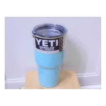 แก้วน้ำเก็บอุณหูมิ(YETI)สีฟ้าอ่อน 30oz.