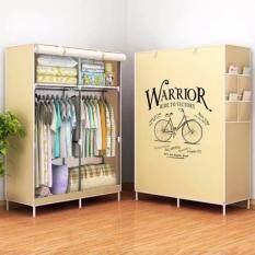 Yifun Multifunction 2 Block wardrobe ตู้เสื้อผ้า 2 บล๊อค-จักรยาน