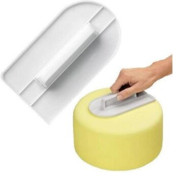 Yika Cake Decorating Smoother Paddle Icing Fondant PolisherFinisher Sugarcraft Cup - intl