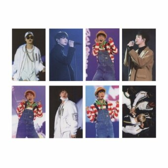 Youpop KPOP BTS Bangtan Boys 3th Concert Album Photo Card K-POPSelf Made Paper Cards Autograph Photocard XK440 - intl