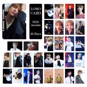 Youpop KPOP BTS Bangtan Boys Japan Album V LOMO Cards K-POP NewFashion Self Made Paper Photo Card HD Photocard LK494 - intl