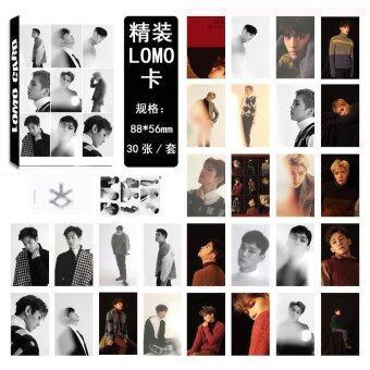 Youpop KPOP EXO For Life Album LOMO Cards K-POP New Fashion SelfMade Paper Photo