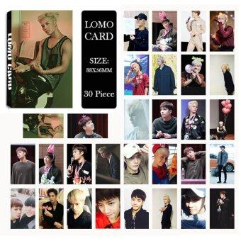 Youpop KPOP GOT7 Hard Carry JACKSON Album LOMO Cards K-POP NewFashion Self Made Paper Photo Card HD Photocard LK437 - intl