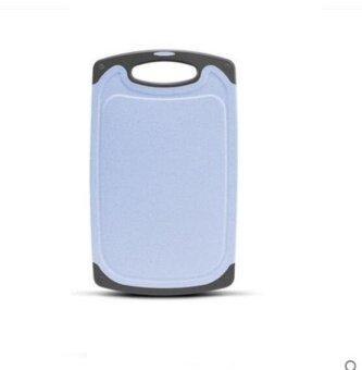 ZH Antibacterial and mildew proof plastic household rolling board(blue) - intl