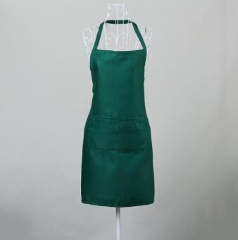 ZH women's stylish breathable kitchen apron(green) - intl