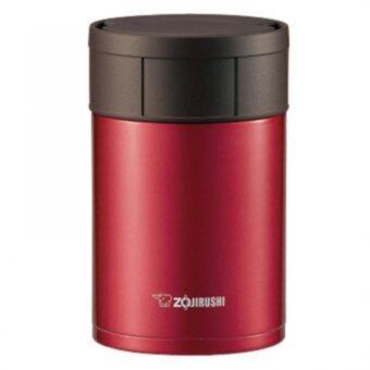 Zojirushi Food Jars/ กระติกอาหารสูญญากาศเก็บความร้อน/เย็น 0.55 ลิตรรุ่น SW-HAE55 RM (สีแดง)