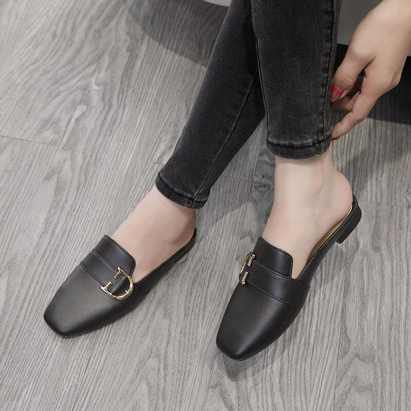 ✨รองเท้าแตะแฟชั่น รองเท้าเเตะเเบบสวม รุ่นTP161✨