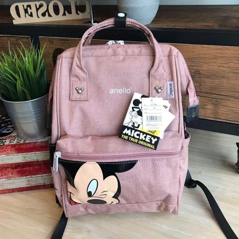 ยี่ห้อไหนดี  ปัตตานี พร้อมส่ง กระเป๋า Anello Đisnēy 2019 Polyester Canvas Backpack Limited