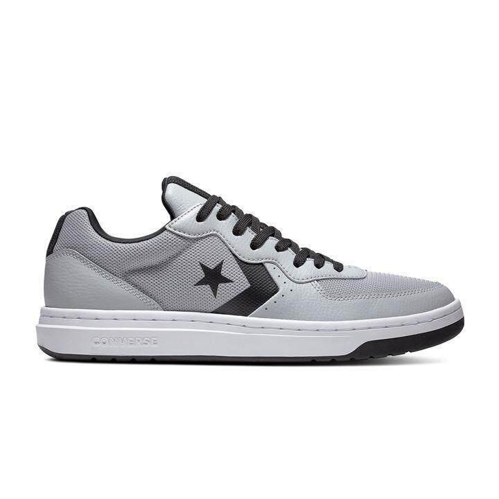 ยี่ห้อนี้ดีไหม  เพชรบูรณ์ Converse Men Sneaker รองเท้า คอนเวิร์ส แฟชั่น ผู้ชาย รุ่น Rival Leather OX  มี 5 สี ขาว/ดำ/เทา/กรม/ขาวแดง (2490)