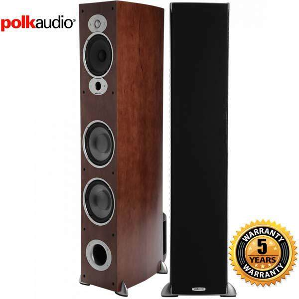 สอนใช้งาน  กำแพงเพชร Polk Audio RTI A7 Floorstanding Speaker (Single  Cherry) Pair
