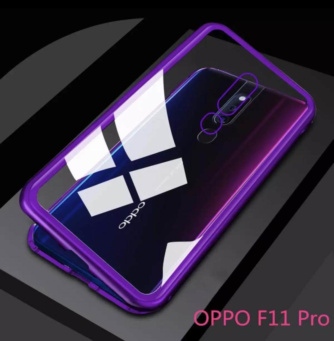 Case OPPO F11 Pro เคสออฟโป้ F11Pro เคส Oppo F11Pro สินค้าพร้อมจัดส่ง เคสแม่เหล็ก เคสประกบ360 Magnetic Case 360 degree เคส OPPO F11pro เคสมือถือ เคสกันกระแทก รุ่นใหม่ แม่เหล็ก ประกบ หน้า-หลัง สินค้าใหม่