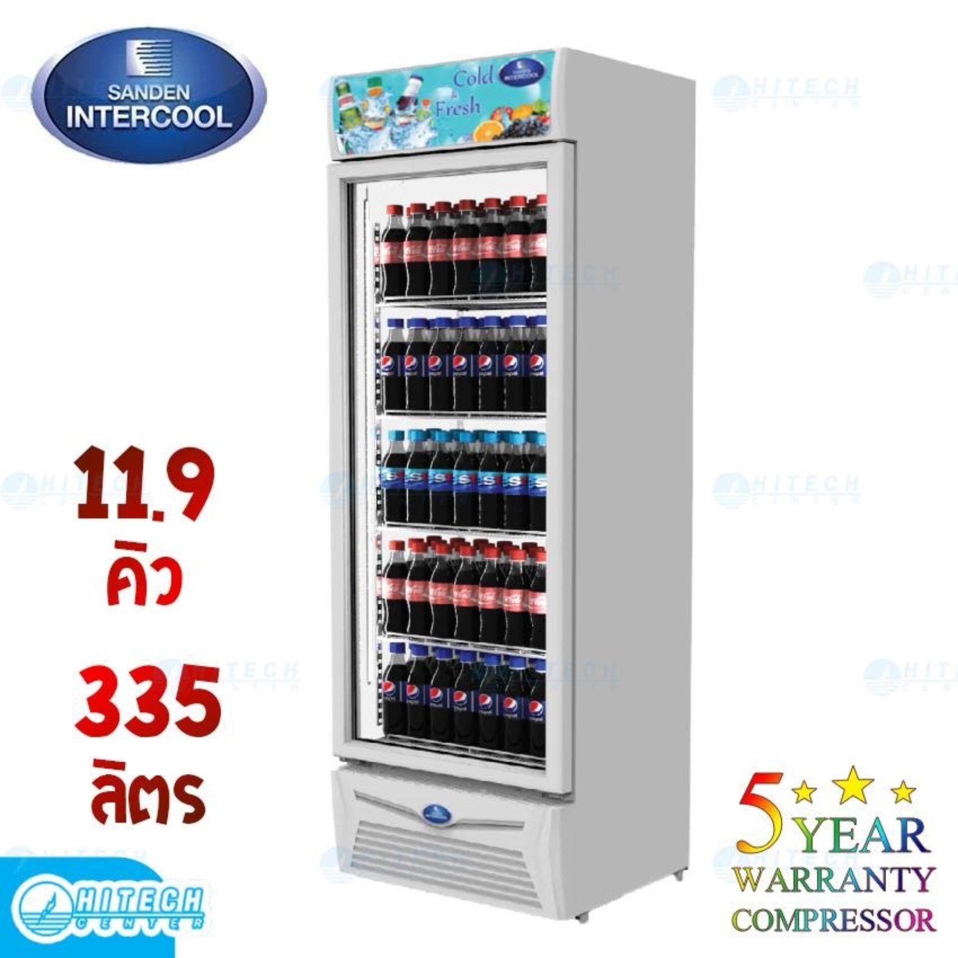 ยี่ห้อไหนดี  พิจิตร SANDEN ตู้แช่เย็น 1 ประตู 11.9 คิว รุ่น SPA-0353A