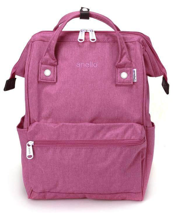 การใช้งาน  สตูล Anello Regular Backpack-Heat Tone (Rose Pink)