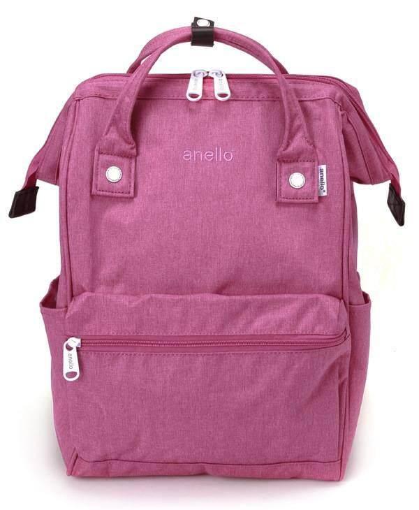การใช้งาน  สตูล Anello Regular Backpack-Heat Tone (Rose Pink)