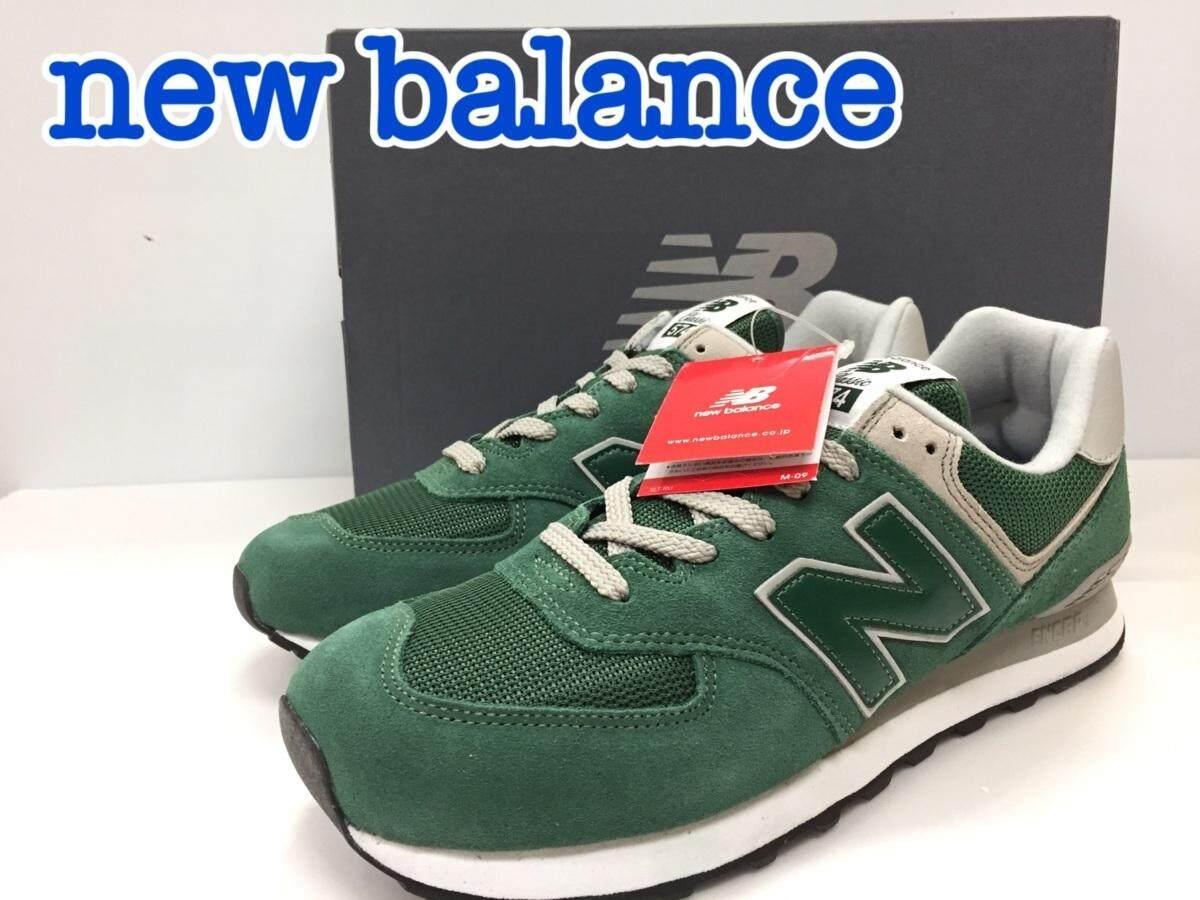 ยี่ห้อนี้ดีไหม  ปัตตานี new balance ML574EGR D FOREST GREEN รองเท้าวิ่งชาย รองเท้าผ้าใบชาย size US10