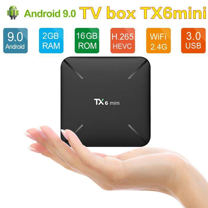 สินเชื่อบุคคลซิตี้  บุรีรัมย์ TX6 mini Smart TV Box android 9.0 Allwinner Tanix 2GB+16GB มินิมาร์ททีวีกล่อง Android 9.0 Allwinner H6 2 กรัม + 16 กรัม 2.4 กิกะเฮิร์ตซ์ WiFi สนับสนุน 4 พัน H.265 รับสัญญาณทีวี Netflix Set-top Box TX6mini