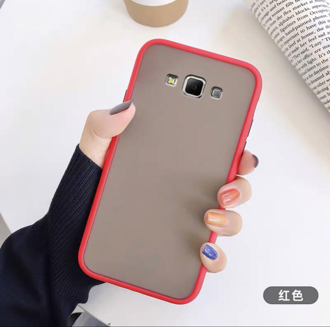 [ส่งจากไทย] เคสโทรศัพท์ซัมซุง Case Samsung galaxy J2Prime เคสกันกระแทก ปุ่มสีผิวด้าน ขอบนิ่มหลังแข็ง