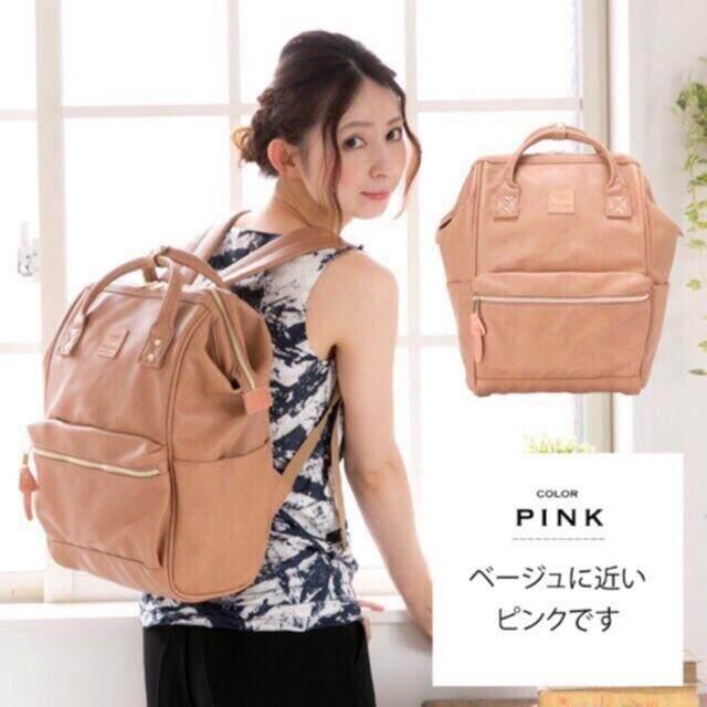 สอนใช้งาน  พะเยา anello PU Leather ของแท้  กระเป๋าเป้สะพายหลังรุ่นหนังนิ่ม- สีดำ ไซส์คลาสสิค Size: กว้าง 34x สูง 40 หนา 20 cm
